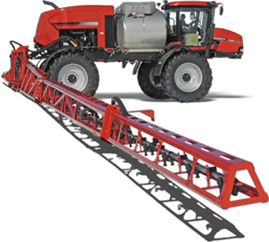 Case 4430 with Millennium aluminum spray boom